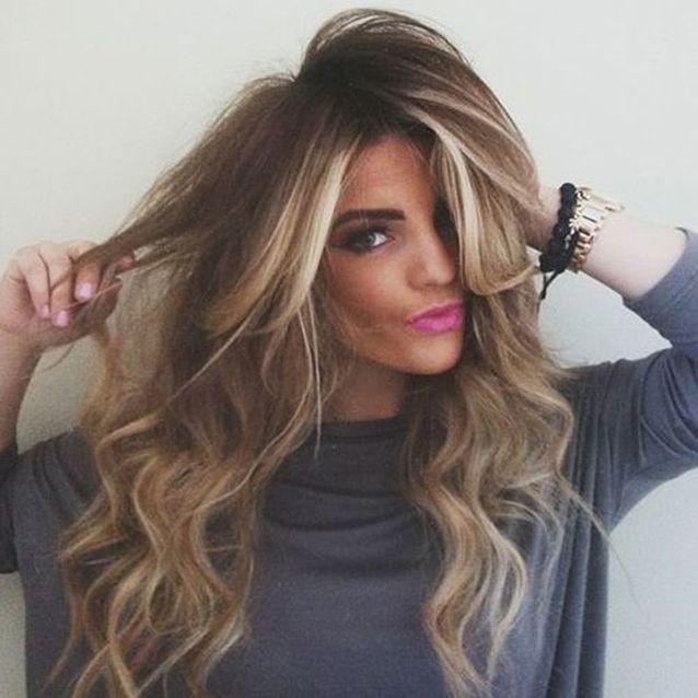 Le sombré hair lumineux