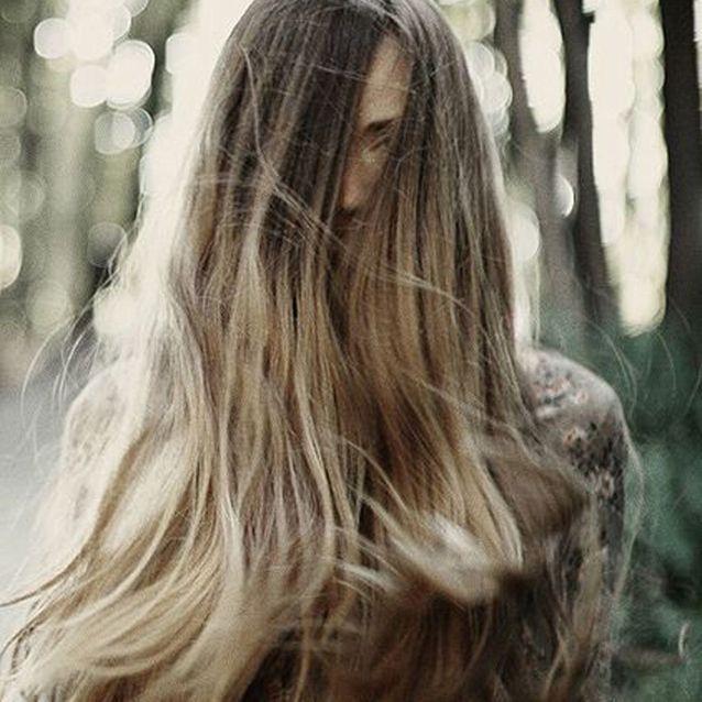 Le sombré hair sur cheveux très longs