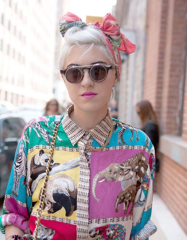 Le foulard eighties