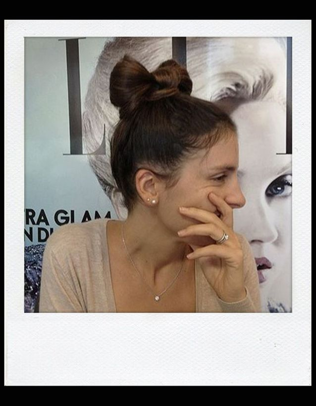 Le Chignon noeud Lady Gaga