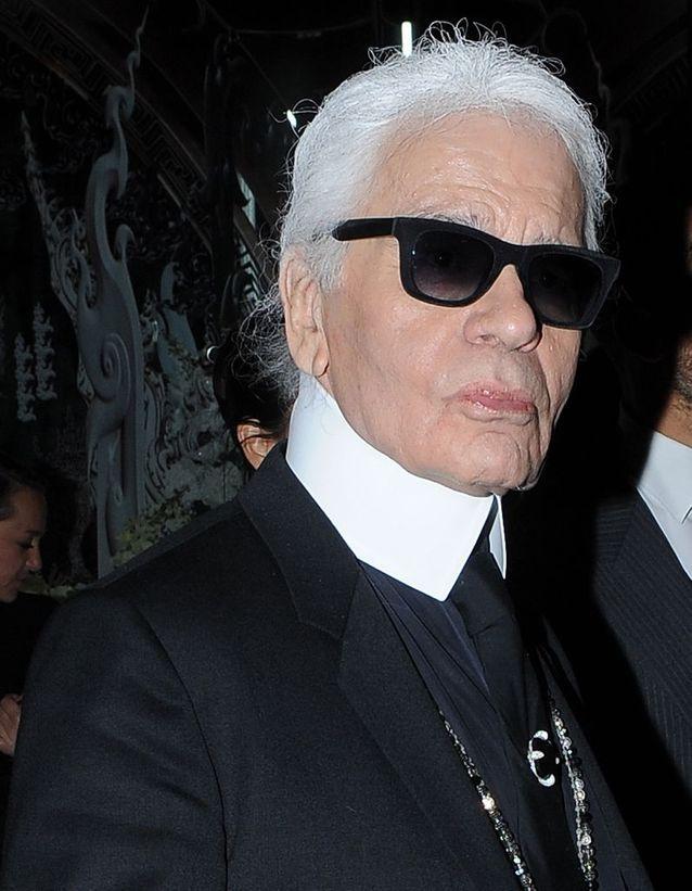 """Karl Lagerfeld : """"On dirait qu'ils sont passés à travers un pare brise"""""""