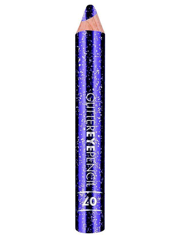 18   Glitter Eyepencil, Violet, Deborah Milano