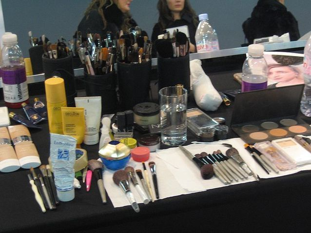 Backstage beauté Sonia Rykiel - collection hiver 2010-2011 (1)