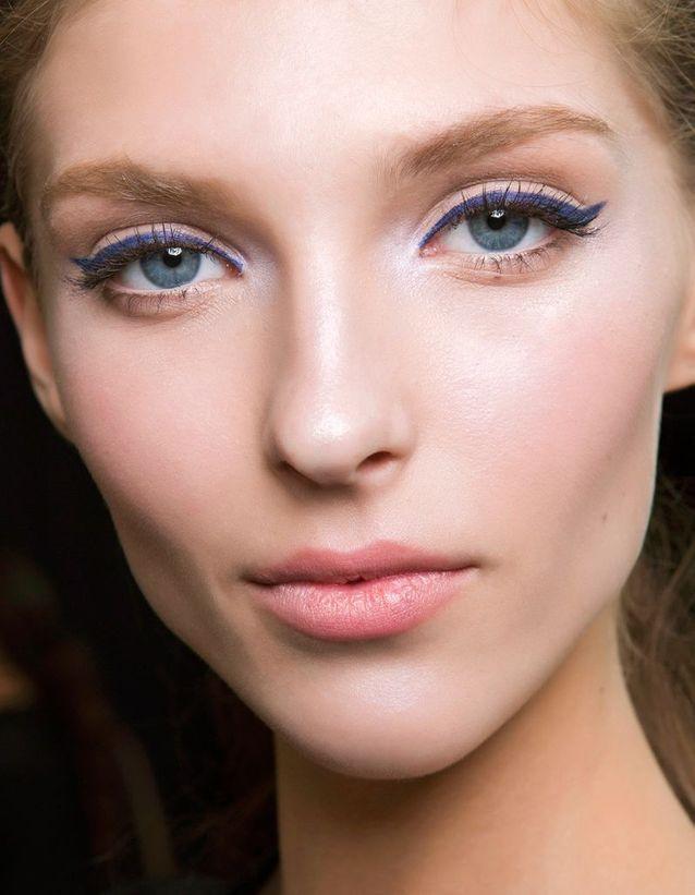 Maquillage des yeux bleus idée