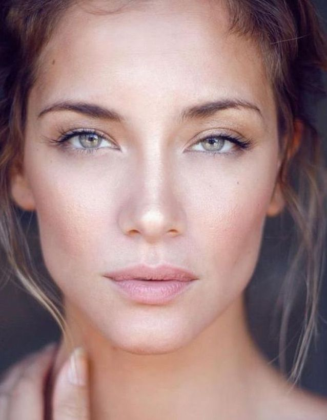 Le maquillage naturel irisé