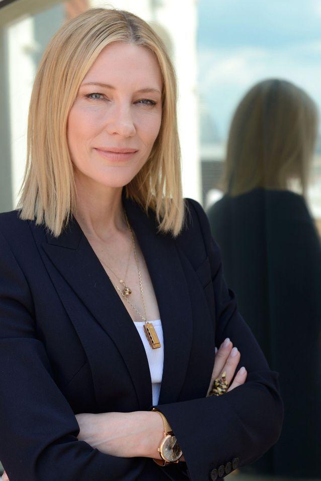 Cate Blanchett, radieuse et solaire