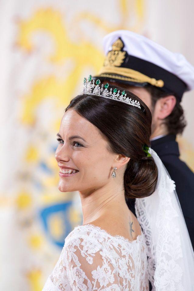 Sofia de Suède et son tatouage soleil dorsal