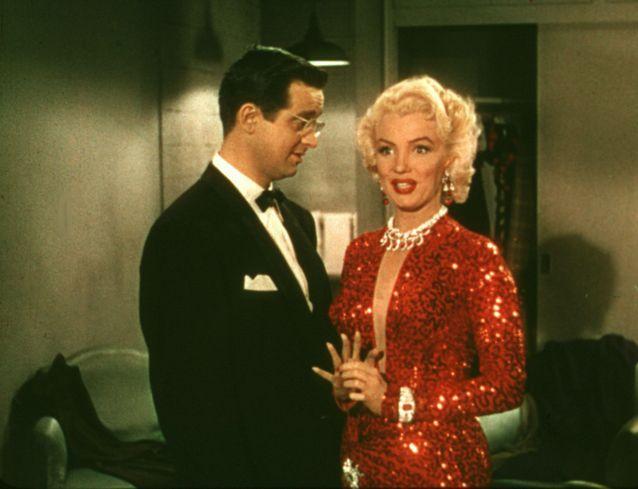La bouche rouge de Marilyn Monroe dans « Les hommes préfèrent les blondes »