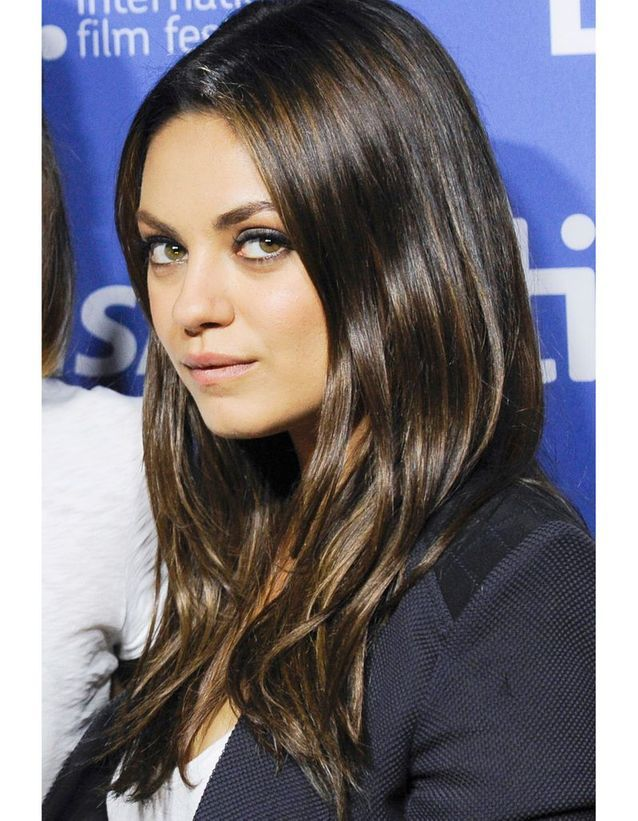Le brun intense de Mila Kunis