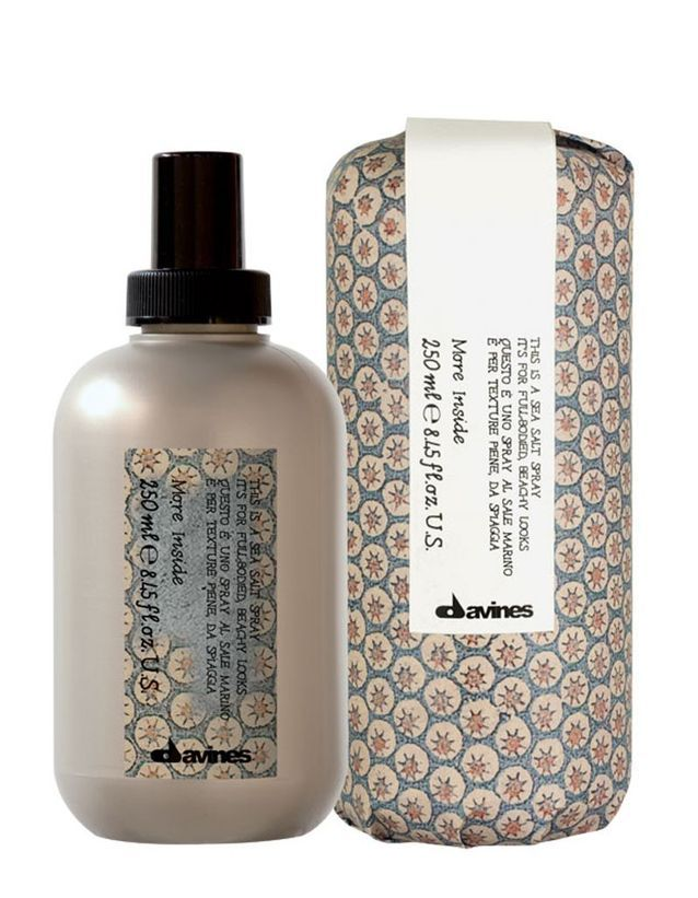 Sea Salt Spray de la ligne More Inside, Davines, 25 €