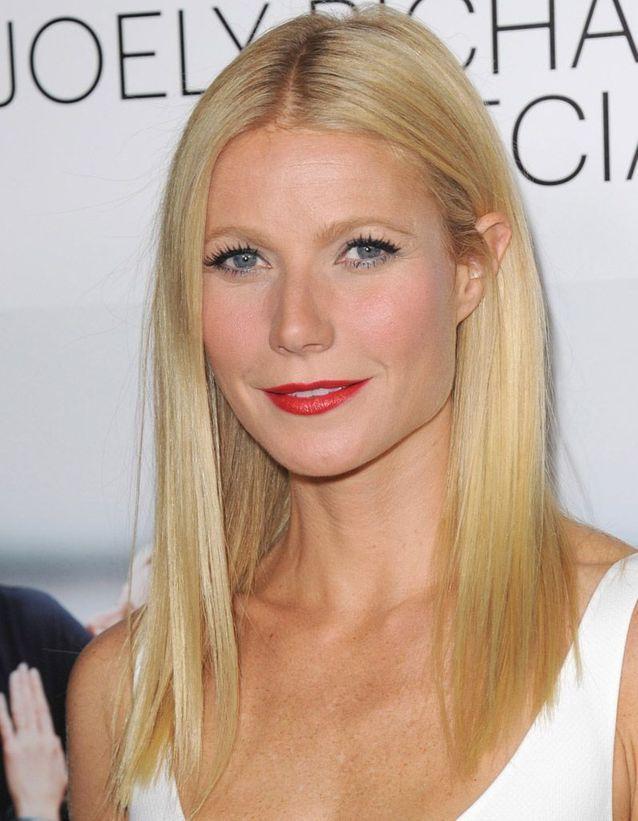 Le khôl bleu clair de Gwyneth Paltrow