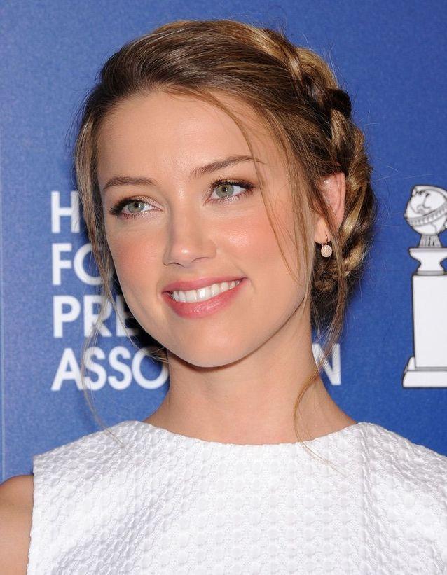 Le maquillage nude de Amber Heard