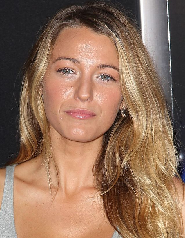 Le maquillage nude de Blake Lively