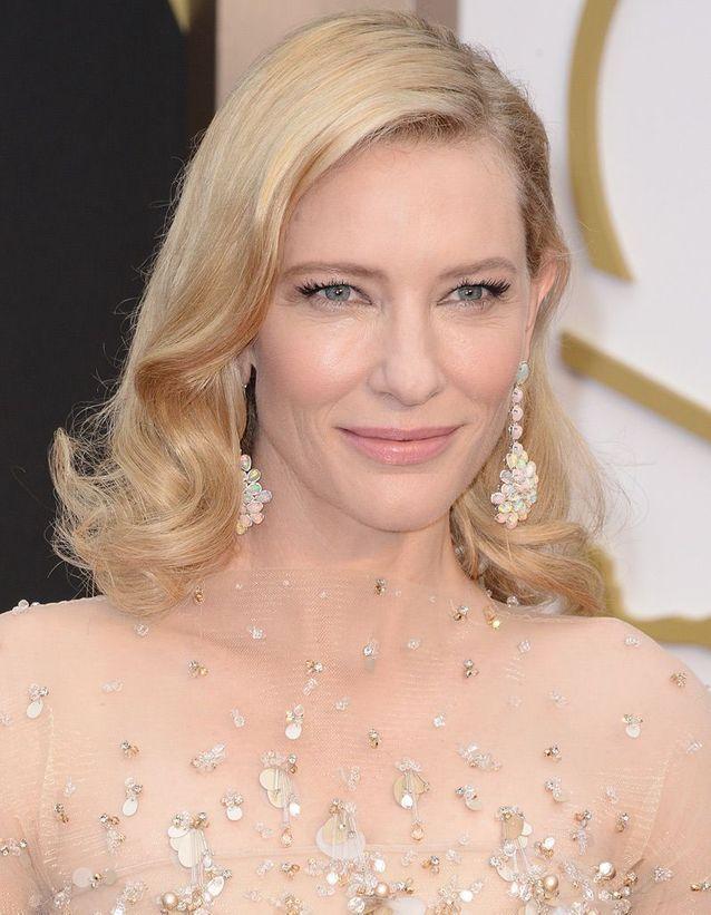 Le maquillage nude de Cate Blanchett