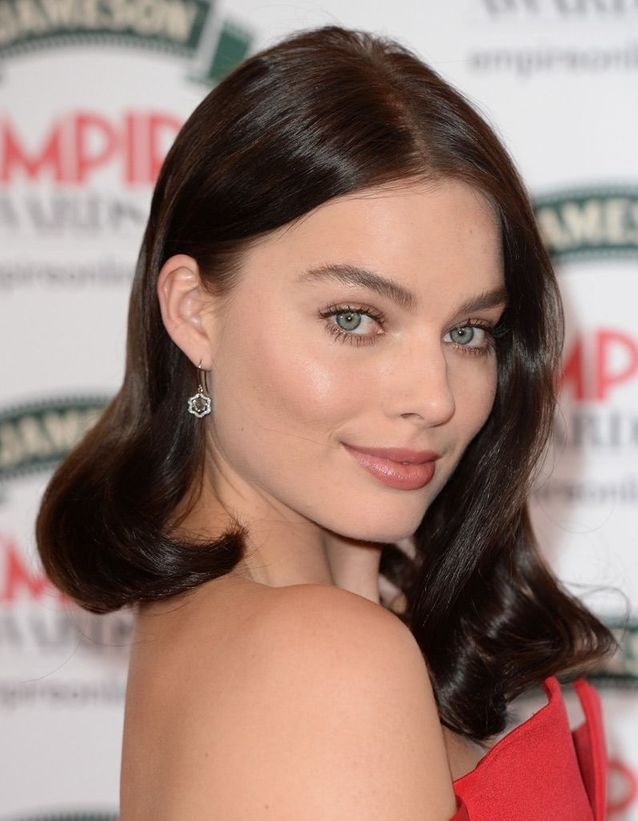 Le maquillage nude de Margot Robbie