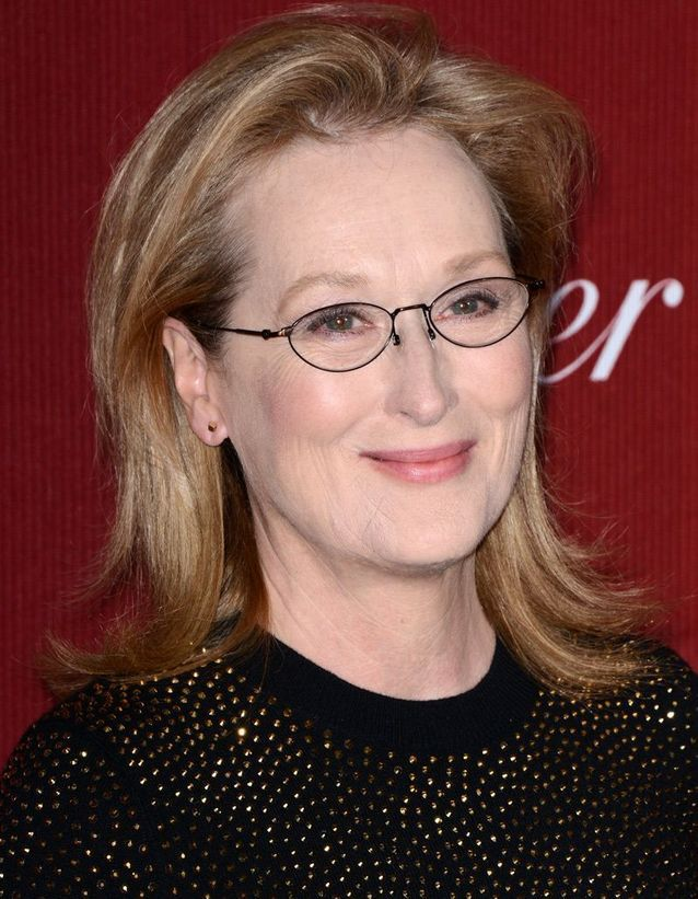 Le maquillage nude de Meryl Streep