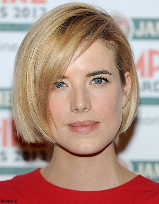 Agyness Deyn, un carré court