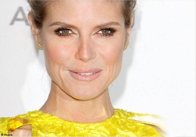 On veut toutes le beauty look d'Heidi Klum