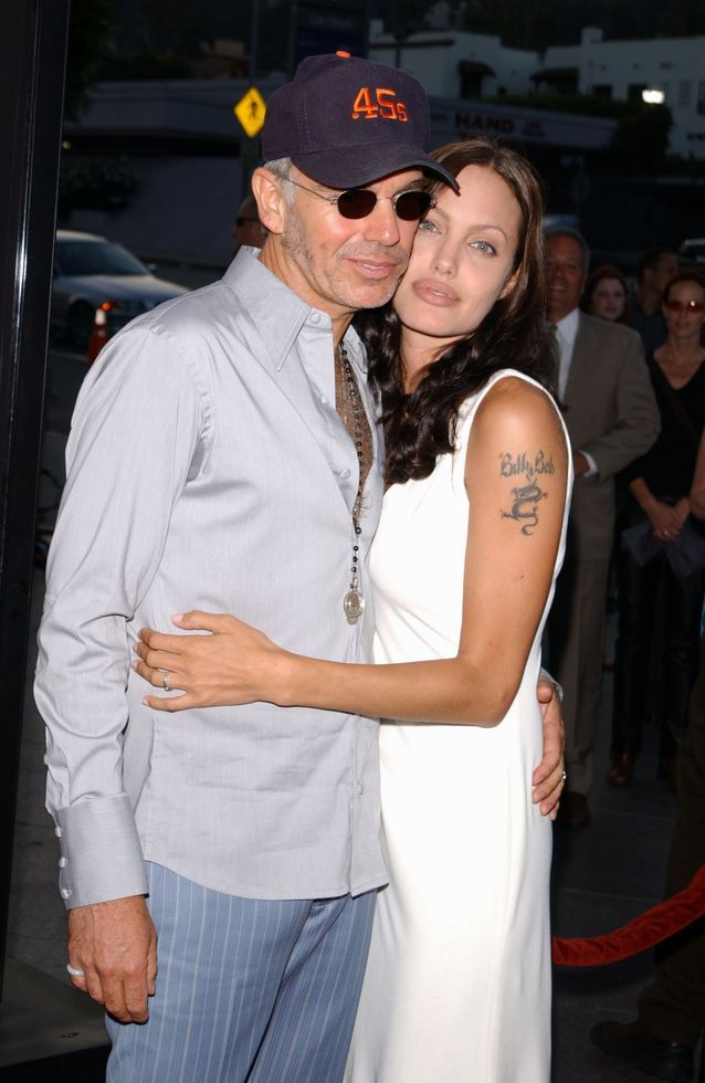 meaning of Angelina Jolie's tattoos and her tattoo for Billy Bob Thornton