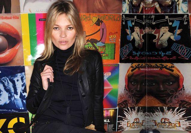Vernis : la leçon de nail art de Kate Moss