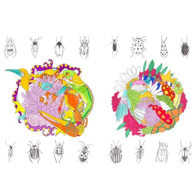 Tatouages éphémères collection « Galapagos », Selon Dolores