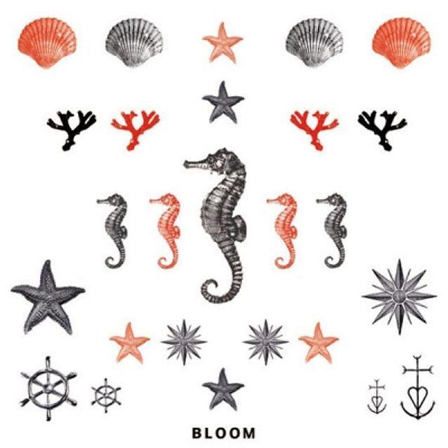 Tatouages éphémères collection « Summer », Bloom