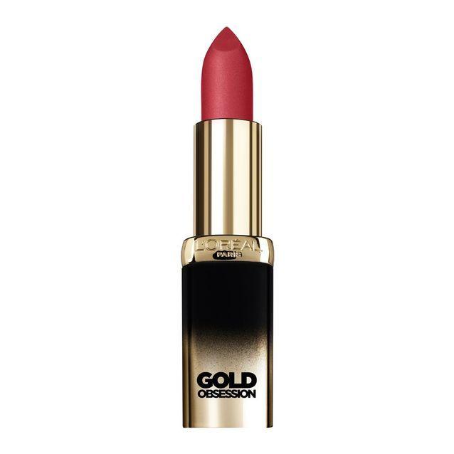 Rouge à lèvres Gold Obsession de L'Oréal Paris