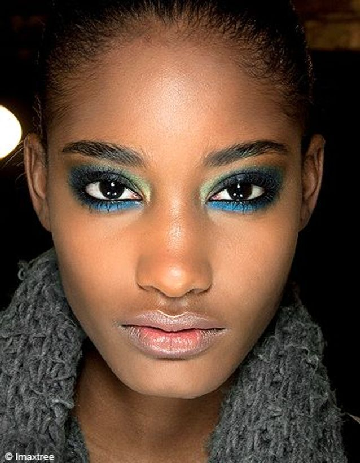 Beaute shopping tendance look maquillage paon GENERIQUE OK1