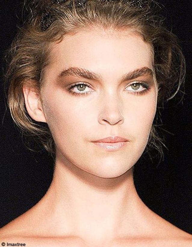 Beaute tendance maquillage defiles milan Cavalli 2