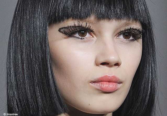 Fashion week Londres : le maquillage