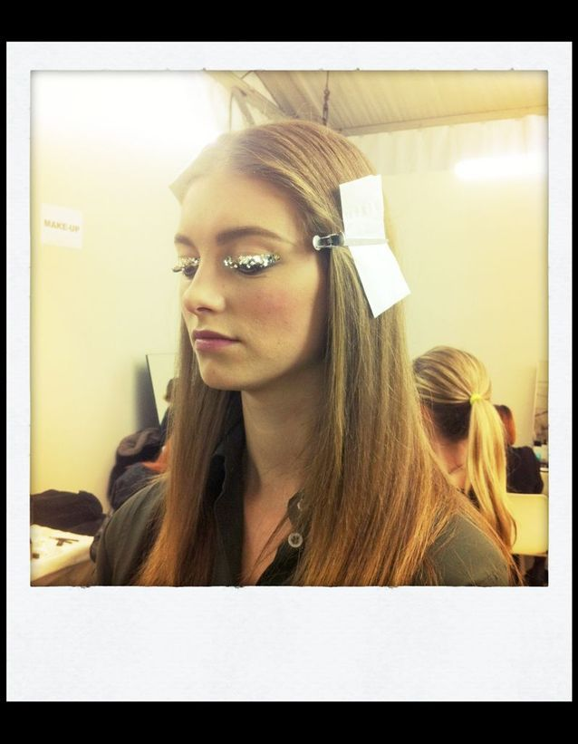 Jumbo Glitter chez Chanel