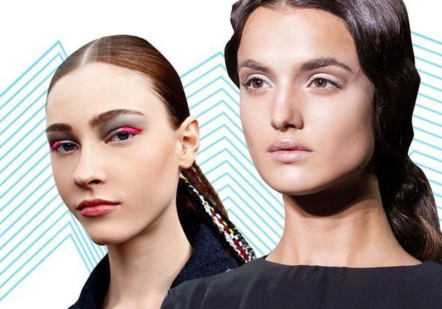 Les 10 tendances maquillage de la saison repérées sur les podiums