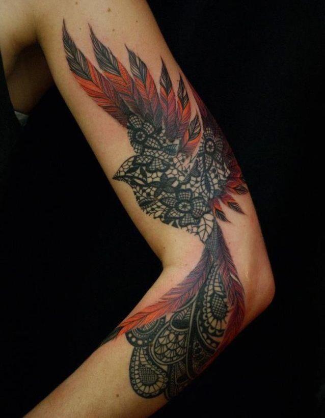 Idée tatouage : un oiseau majestueux