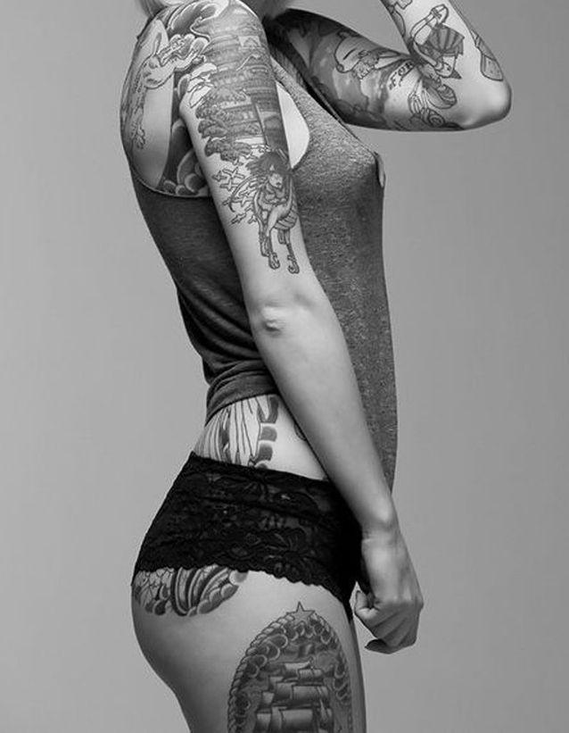 Idée tatouage : une histoire sur le corps