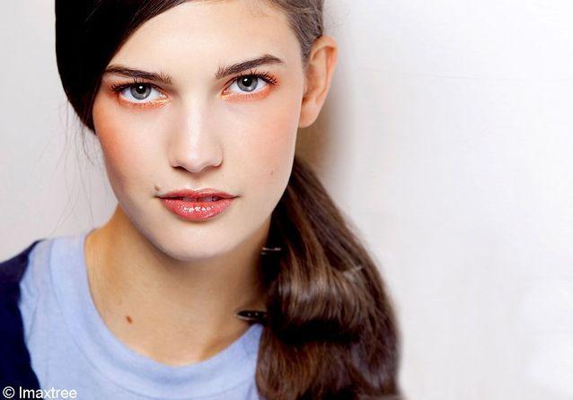 Make-up : le total-look tangerine
