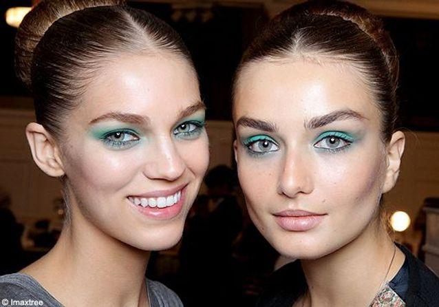 Make-up : on mise sur le vert