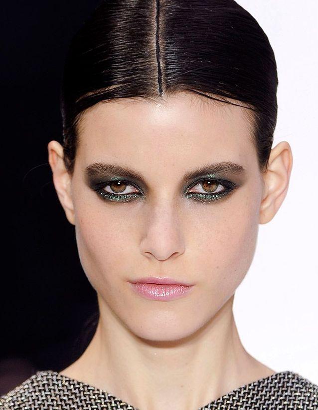 Smoky eyes vert irisé