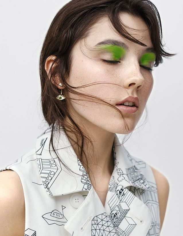 La touche vert gazon