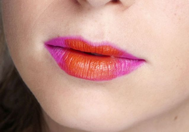 Maquillage ombré lips