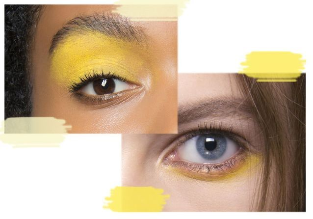 Maquillage jaune : notre shopping vitaminé
