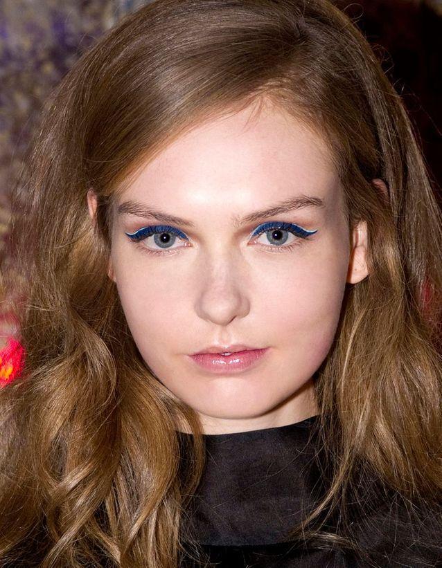 Maquillage Réveillon Bleu