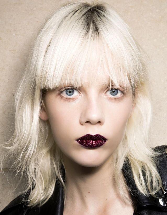 Maquillage Réveillon Bouche glitter