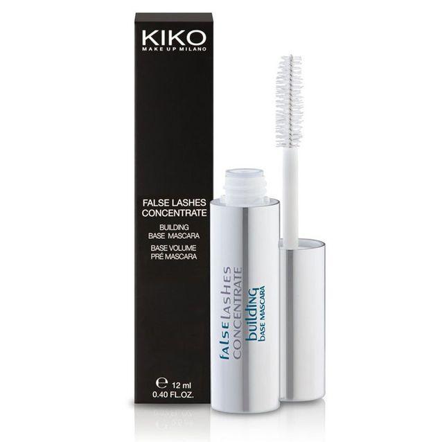 Mascara blanc volumateur « base coat », Kiko