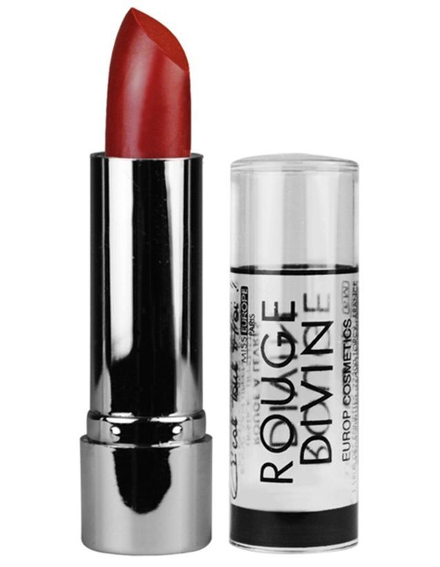 Rouge à lèvres Rouge Divin, Miss Europe, 2,99€