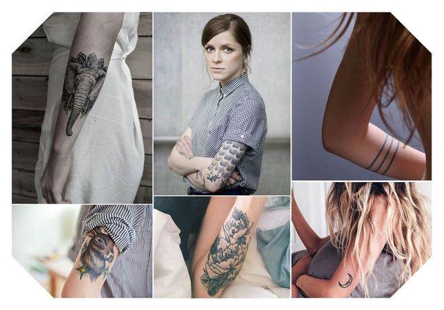Un tatouage sur le bras ? Nos jolies idées pour sauter le pas
