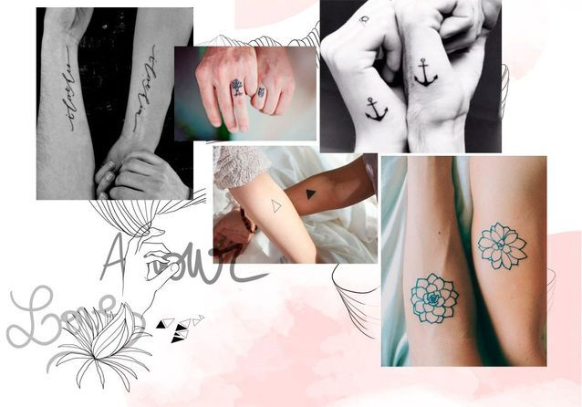tatouage couple : les plus jolis tatouage de couple - elle
