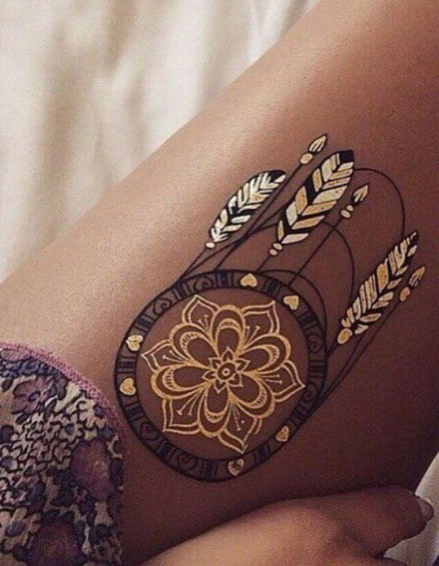 Les Plus Beaux Tatouages Sur La Cuisse Elle