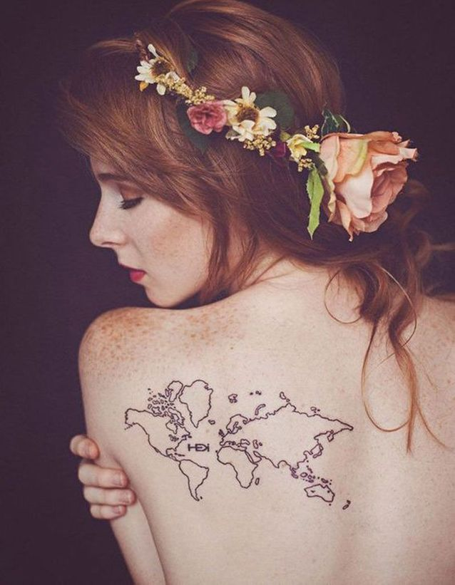 Tatouage Dos Les Plus Belles Idees De Tatouages De Dos Elle