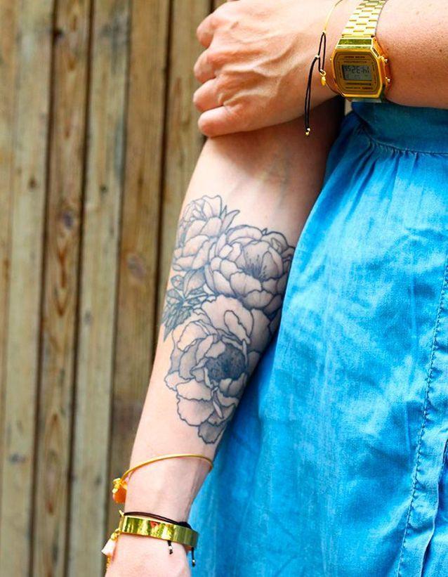 Tatouage Fleur Les Plus Jolis Tatouages Fleuris Elle