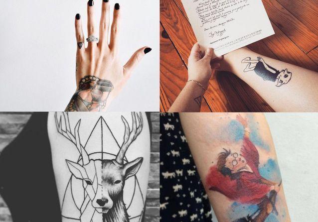 tatouage harry potter : notre sélection de tatouages inspirés par